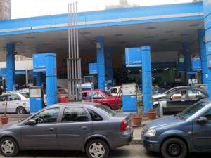 محطات البنزين فارغة في الشرقية