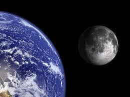 صورة دراسة بهارفارد تفيد بأن القمر كان جزءاً من الأرض