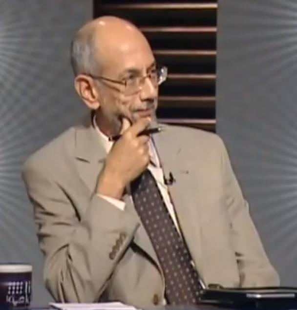 الصياد رئيس تحرير مجلة وجهات نظر و مستشار الرئيس محمد مرسي