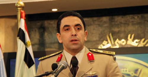 صورة المتحدث العسكرى: نتقبل النقد الهادف والبعض ينتهز الفرص لتشويه الجيش