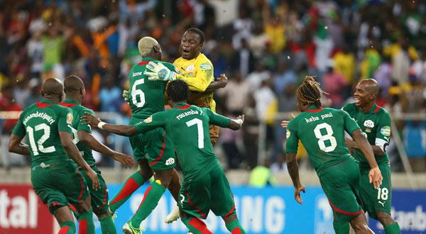صورة بالفيديو .. بوركينا فاسو تتأهل لكأس الأمم الإفريقية