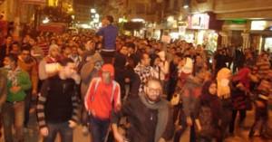 مظاهرة أمام منزل مرسى بالشرقية - أرشيفية