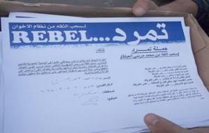6 إبريل تتيح التوقيع إلكترونيا على استمارة تمرد عبر موقعها الرسمى