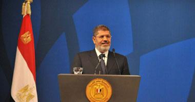 مرسى يلقى كلمة اليوم أمام المؤتمر الوطنى حول السد الإثيوبى