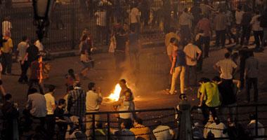 أنصار مرسى يسحلون ضابط جيش ويمثلون بجثته بالجيزة