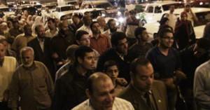 أنصار الإخوان ينسحبون من أمام طيبة مول بعد فشلهم فى