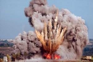 انفجار-صاروخ-ارشيفية-300x200