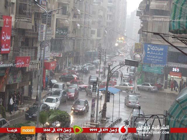 صورة الأرصاد : تقلبات جوية وأمطار تصل لسيول