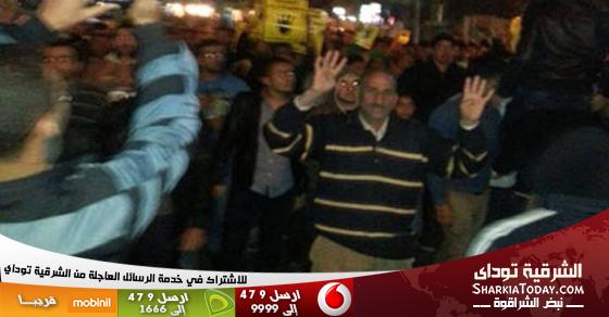مسيرتين للإخوان ببلبيس وأولاد صقر بعد اشتباكات محدودة