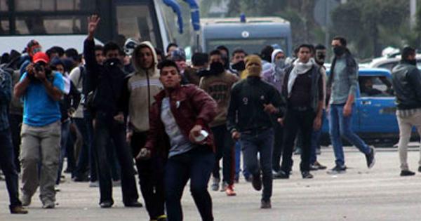 صورة ضبط 6 أشخاص من عناصر الإخوان لتورطهم في أعمال شغب بأبوحماد