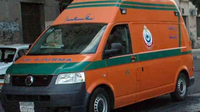 صورة الصحة: 12 قتيلًا وخمسة مصابين في سقوط قذيفة على قرية بالشيخ زويد