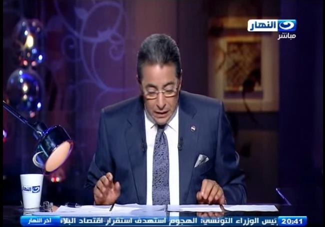 صورة بالفيديو | محمود سعد : يوجد أشياء تحتاج اهتمام أكثر من مظاهرة خلع الحجاب