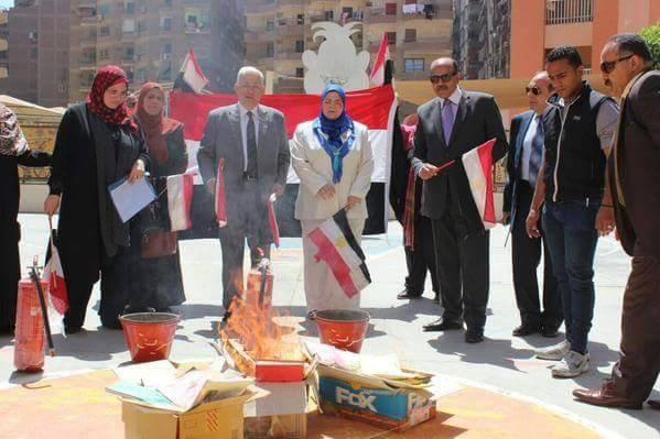 صورة تفاصيل حرق  75 كتابًا بمدرسة بدعوى أنها «تحض على العنف والإرهاب»