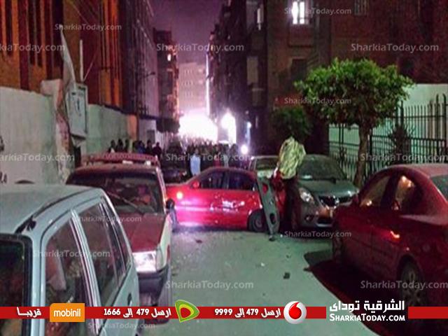 صورة بالصور | تفاصيل وقوع انفجارات مدينة الزقازيق في عيد القيامة المجيد