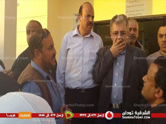 صورة وكيل وزارة الصحة بالشرقية يزور مستشفى الصالحية القديمة