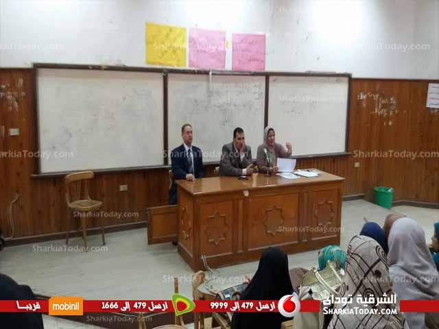 صورة عميد الدراسات الإسلامية بأزهر الزقازيق يعقد إجتماع لتفعيل موقع خاص بنتائج الطلاب