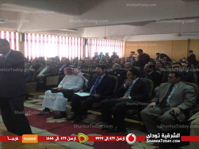 صورة جامعة الزقازيق تستضيف الأمير السعودى  «تركي الفيصل» اليوم