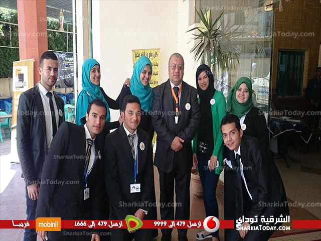 صورة شاهد.. تكريم «أشرف الشيحى» وعلماء مصر بالمؤتمر الدولى الخامس بعلوم الزقازيق