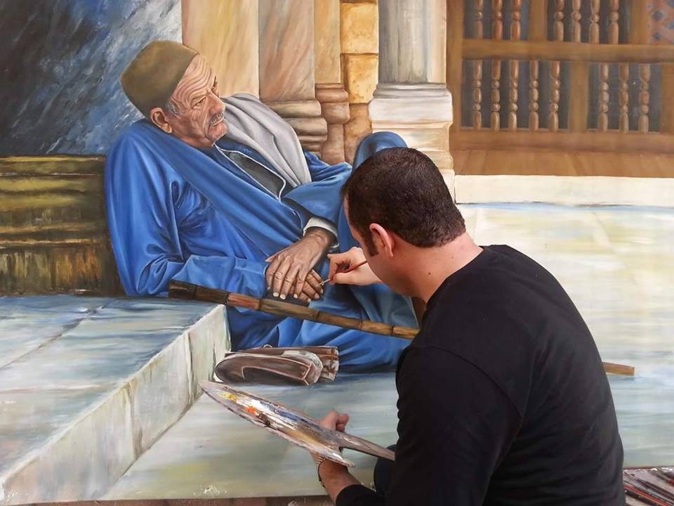 صورة «خطوة أكاديمى» تستضيف أكبر معرض للفن التشكيلى فى الزقازيق