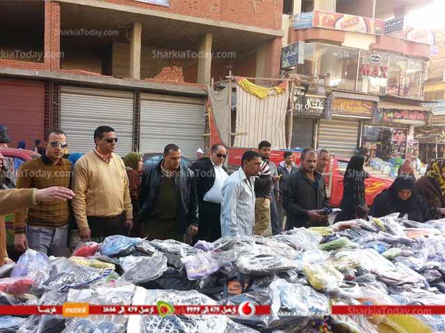 صورة شاهد حملة مكبرة لمجلس مدينة ديرب نجم علي سوق الاحد