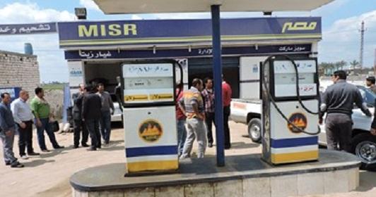صورة ضبط 21 ألف لتر بنزين وسولار بمحطة وقود قبل بيعها بالسوق السوداء بفاقوس