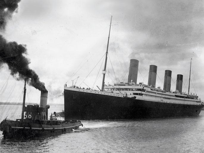 صورة شاهد | تفاصيل غرق سفينة تايتنك فى الذكرى 103