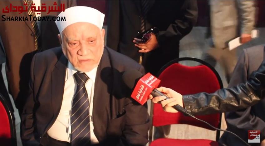 صورة لقاء الشرقية توداى مع الدكتور «أحمد عمر هاشم» حول تطور الخطاب الدينى