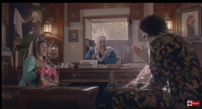 صورة الحلقة السابعة من مسلسل لهفة : خطف دنيا سمير غانم وحجازى متقال