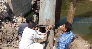 محافظ الشرقية يكافىء فريق العمل المشرف على إصلاح خط مياه أبو كبير