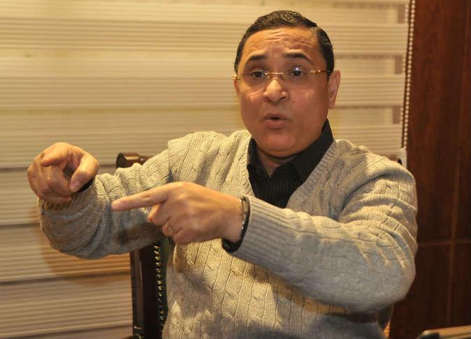 """صورة عبد الرحيم على: """"سأفتح الصناديق السوداء للوزراء ، و لن يسكت صوتى إلا رصاصة"""""""