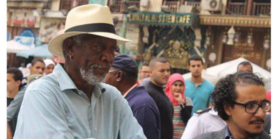 صورة مورجان فريمان: سعيد لوجودي في مصر وزيارتي ستتضمن العديد من المناطق السياحية