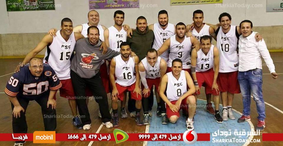صورة سلة فاقوس يفوز علي الترام فى اولى لقاءات دورى كرة السلة بالممتاز