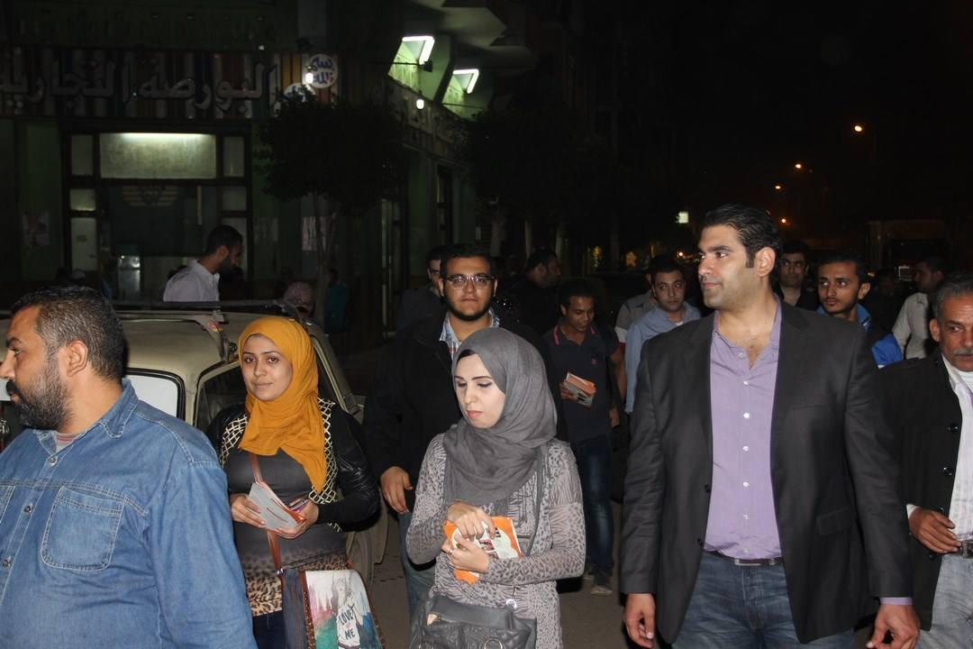 """صورة جولة للمرشح """"إسلام مرعى"""" بعزبة الحريرى بالزقازيق"""