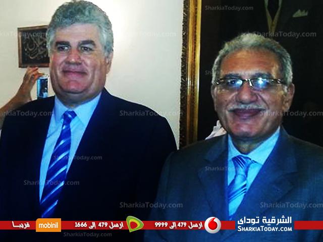 صورة نجل الرئيس الراحل جمال عبد الناصر يعلن تأييده للمرشح مجدى زعبل الدائرة الثانية بالزقازيق