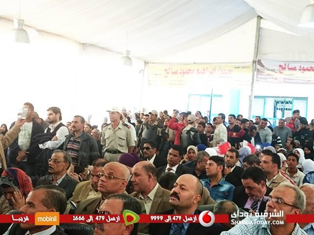 صورة افتتاح مدرسة مملكة البحرين المصرية بأبوكبير بحضور محافظ الشرقية
