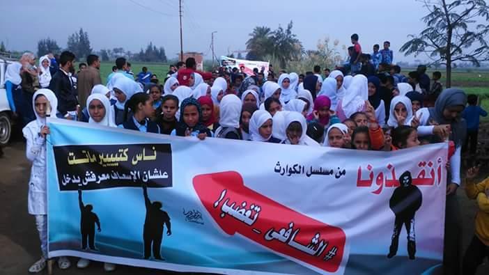 صورة محافظ الشرقية يستجيب لمطلب الأهالى برصف طريق جزيرة الشافعى بأولاد صقر