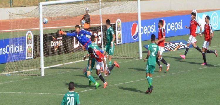 صورة مصر تتعادل مع الجزائر فى تصفيات الأولمبياد