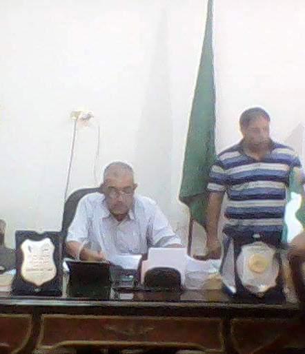 """صورة تعيين """"ايهاب مرسى"""" رئيساََ للوحدة المحلية لقرية سنهوا"""