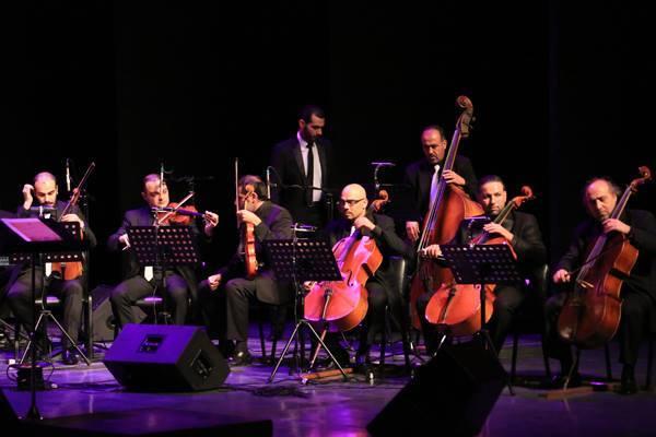صورة بدء حفل افتتاح الدورة الـ 24 لمهرجان الموسيقى العربية