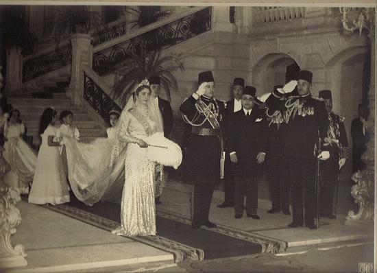 """صورة تعرف علي سبب اختيار الملك فاروق والملكة فريدة """"بلبيس"""" لشهر العسل"""