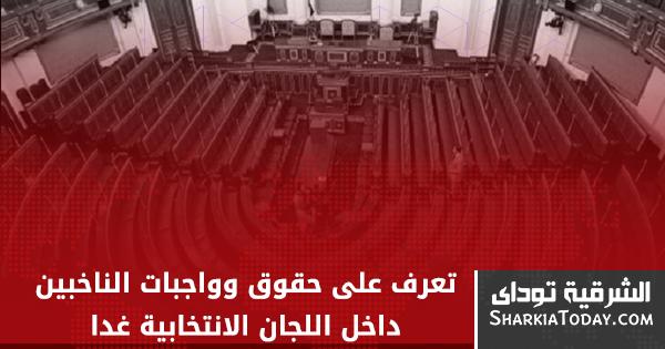 صورة تعرف على حقوق وواجبات الناخبين داخل اللجان الانتخابية غداََ