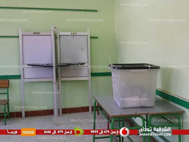 صورة بالصور..اقبال الناخبين بين ضغيف و متوسط علي لجان الإعادة بفاقوس