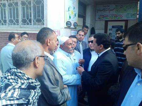صورة نشاط محافظ الشرقية في أسبوع .. مابين الجولات ومتابعة الإنتخابات