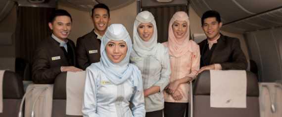 صورة شركة طيران ماليزية تبدأ أولى رحلاتها المطابقة للشريعة الإسلامية