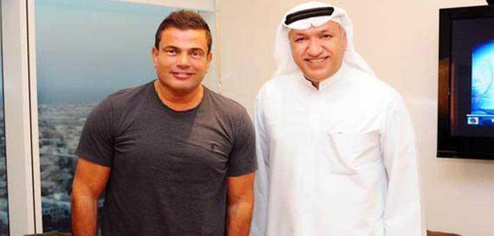 صورة رئيس روتانا يعترف بسبب فسخ التعاقد مع عمرو دياب
