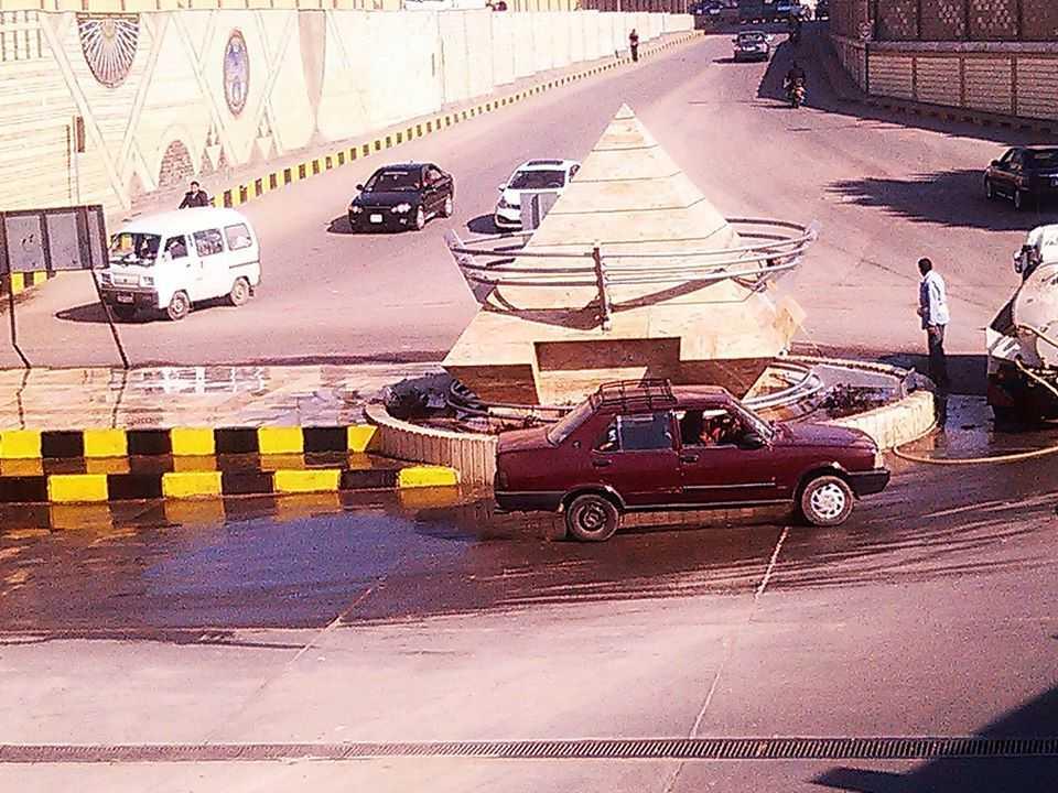 صورة بالصور..حملة نظافة مكبرة بنفق أبو الريش
