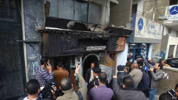 صورة الإسعاف: وفاة 16 حالة ومصابين حصيلة حادث ملهى العجوزة