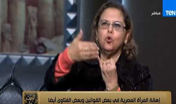 صورة بالفيديو.. مشادة حادة على الهواء بين كريمة الحفناوي وشيخ أزهري بسبب قرار وزير العدل