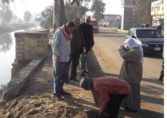 صورة بالصور.. حملة نظافة مكبرة بشوارع الحسينية