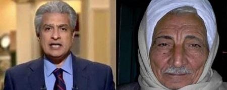 صورة رئيس الشباب بالبرلمان لـ«الإبراشي» عمري 70 عاما والأيام هتحكم بنا.. والأخير: هو لسه في أيام